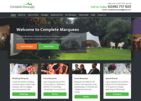 completemarquees.co.uk