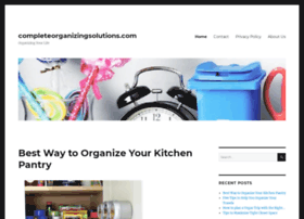 completeorganizingsolutions.com