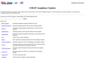 compliance.usb.org