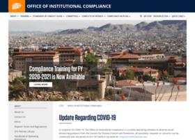 compliance.utep.edu