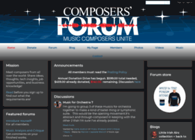 composersforum.ning.com
