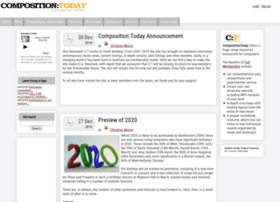 compositiontoday.com