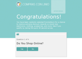 comprasconlinio.com