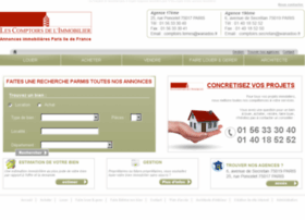 comptoirsdelimmobilier.fr