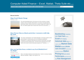 computeraidedfinance.com