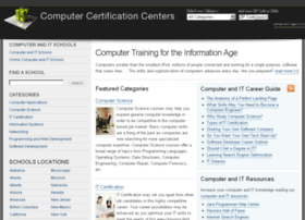 computercertificationcenters.com