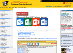 computertrainingmanual.com