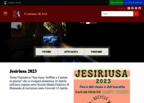 info comune di jesi home page sito web in lingua italiana per il portale di. Black Bedroom Furniture Sets. Home Design Ideas