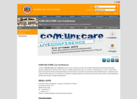 comunicareliveconf.unisa.it