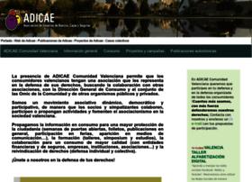 comunidadvalenciana.adicae.net