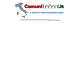 comuniitaliani.it