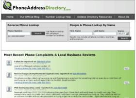comwww.phoneaddressdirectory.com