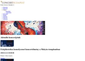 concertbudapest.com