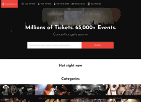 concertics.com