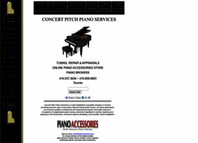 concertpitchpiano.com