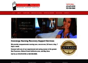 conciergenursingrecovery.com