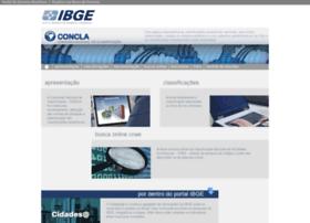 concla.ibge.gov.br