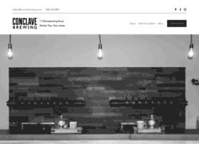 conclavebrewing.com