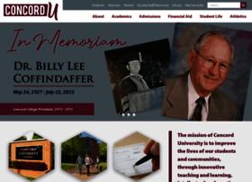 concord.edu