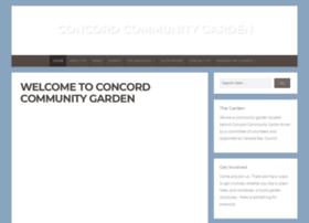 concordcommunitygarden.org