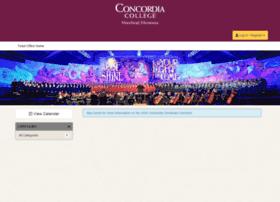 concordiachristmas.universitytickets.com