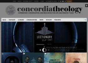 concordiatheology.org