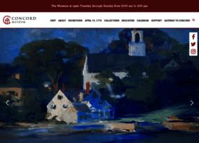 concordmuseum.org