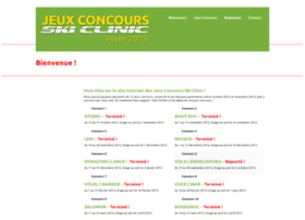 concours.skiclinic.fr