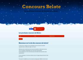 concoursbelote.com