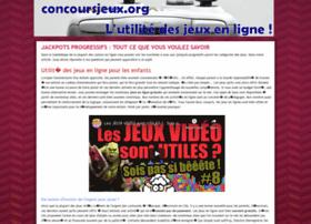 concoursjeux.org