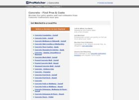 concrete.promatcher.com