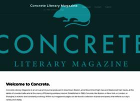 concreteliterarymagazine.com