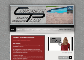 concretepluscementfinishing.com