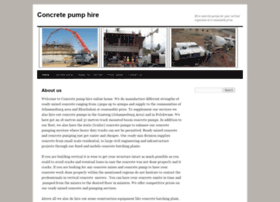 concretepumphire.co.za