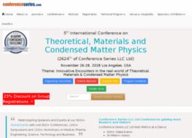 condensedmatterphysics.conferenceseries.net
