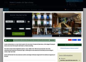 condes-de-barcelona.hotel-rez.com