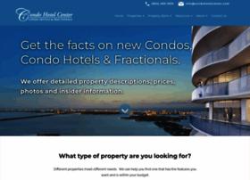 condohotelcenter.com