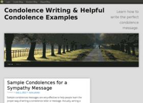 condolences.blog.com