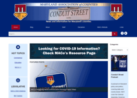 conduitstreet.mdcounties.org
