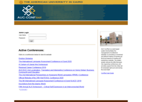conf.aucegypt.edu