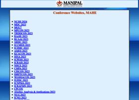 conference.manipal.edu
