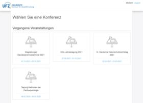 conference.ufz.de