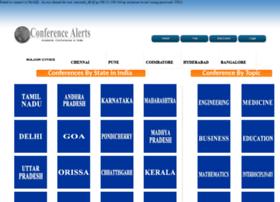 conferencealert.info