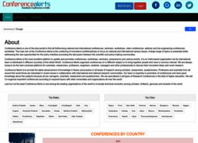conferencealerts.info