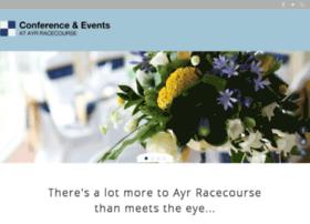 conferenceandeventsatayr-racecourse.co.uk