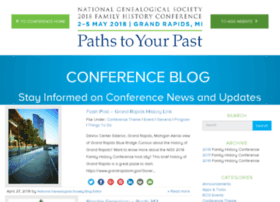 conferenceblog.ngsgenealogy.org