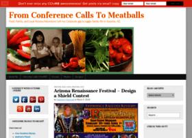 conferencecallstomeatballs.com