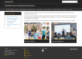 conferences-camps.appstate.edu