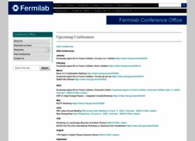 conferences.fnal.gov
