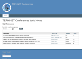 conferences.tephinet.org